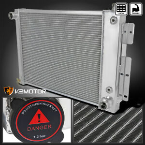 67 69 Chevy Camaro Pontiac 3 Core Row Aluminum Performance Cooling Radiator