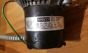 Fasco 7162 3363 Furnace Draft Inducer Blower Motor Used Free Shipping Used m658