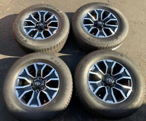 2020 Toyota Tacoma Trd Sport Oem 4x4 Tires And Wheels Toyo Takeoffs