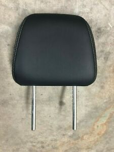 Honda Accord Front Seat Headrest Black Leather Oem 2013 2014 2015 2016 2017