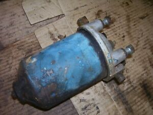 Vintage Fordson Major Diesel Tractor Engine Fuel Filter Hsng Fram