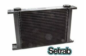 Setrab Oil Cooler P N 625 25 Row P N 50 625 7612 Cooler Only Free Ship