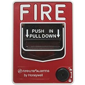 Fire Lite Alarms Bg 12l Dual Action Pull Station W key Lock Security Products