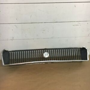 Oem 1970 1972 Mg Mgb Gt Recessed Fishmouth Front Radiator Bumper Chrome Grille