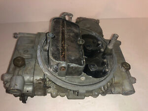 Holley Carburetor 600 Cfm 4 Barrel List 1850 1 Tested Works