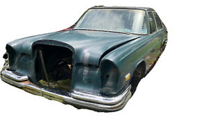 Vintage 1970s Mercedes Benz 280s W108 Body And Accessories