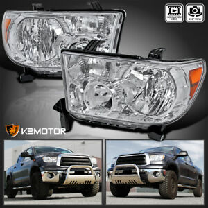 For 2007 2013 Toyota Tundra 2008 2017 Sequoia Replacement Headlights Left Right