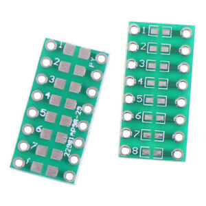 10pcs Smd smt Components 0805 0603 0402 To Dip Adapter Pcb Board Converter Bi_hh