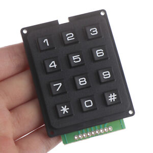 12key Membrane Switch Keypad 3 X 4 Matrix Keyboard Module Membrane Switch Keyphh