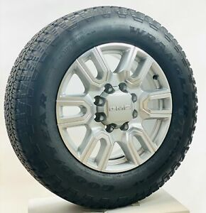 New 2020 Takeoff 20 Gmc Sierra At4 2500 3500 Silver Wheels Goodyear A T Tires
