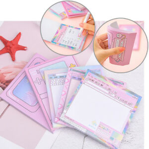 Creative Computer Game Shape Memo Pad Diy Diary Sticky Notes Office Supplies_shh