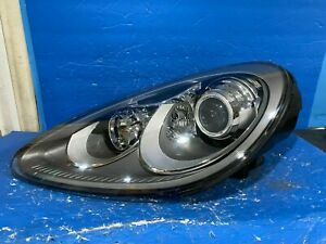 2011 2014 Porsche Cayenne Left Side Driver Side Xenon Headlight Complete Oem