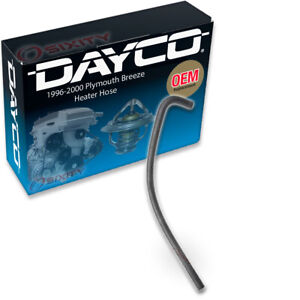 Dayco Heater Hose For 1996 2000 Plymouth Breeze 2 0l L4 Heater Inlet Hvac Dt