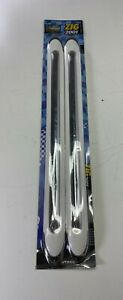 4 Pieces Autocom Zig 2001 As2311 White Bumper Protectors New In Package
