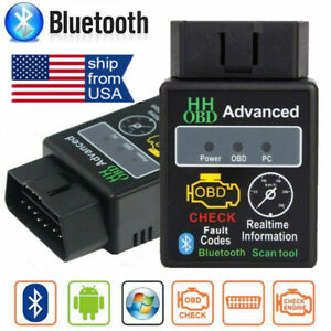 Obd2 Car Bluetooth Code Scanner Reader Elm327 Automotive Diagnostic Tool Obdii B