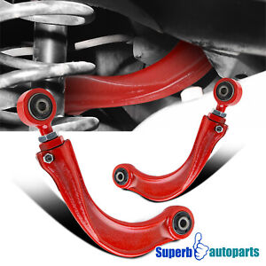 For 2004 2013 Mazda 3 5 2000 2013 Focus Red Rear Upper Suspension Camber Kit