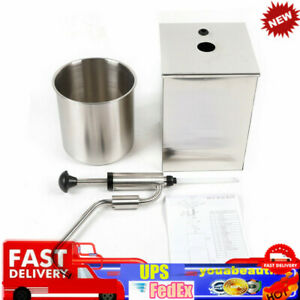 Single Head Sauce Dispenser Pump 4l Squeeze Condiment Dispensing Stainless Steel