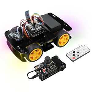 Freenove 4wd Car Kit With Remote compatible With Arduino Ide Ultrasonic Servo
