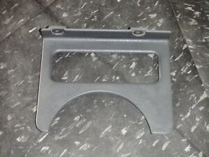 92 95 Jeep Wrangler Yj Gray Dash Steering Column Trim Bezel Gauges Indicator