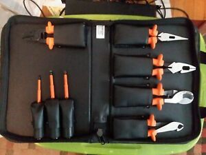 Klein Tool s 8 Piece 1000 volt Insulated High Voltage Electrician Tool Kit 33526