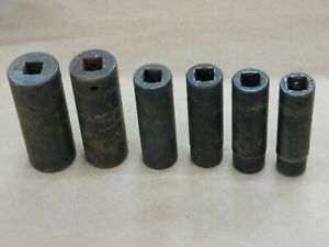 Snap On 6 Pc High Impact Sockets 1 2 In 6 Pt Various Sizes See Photos