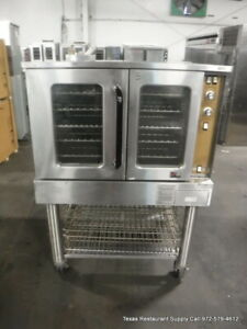 Southbend Gs 10sc Gas Full Size Single Convection Oven On Casters