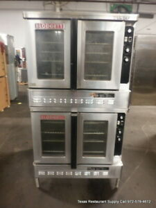 Blodgett Dfg 100 3 5 Full Size Gas Double Stack Convection Oven