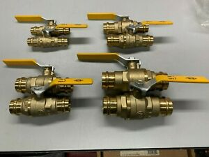 8 1 2 3 4 1 1 1 4 Everflow Propress Ball Valves 2 Of Each Size