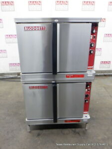 Blodgett Mark v 111 Electric Double Stack Convection Oven