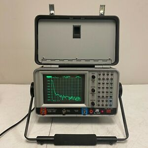 Ifr A 7550 Spectrum Analyzer With Tracking Generator And Receiver 10khz To 1ghz