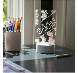Brand New Your Zone My Glow Message Board Light With Pen Multiple Led Colors