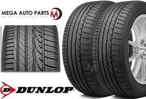 2 Dunlop Signature Hp 245 45r18 96w All Season Ultra high Performance Tires