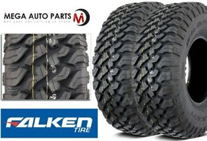 2 Falken Wildpeak M T01 Lt245 75r16 E 120 116q Mud Terrain Truck Off Road Tires