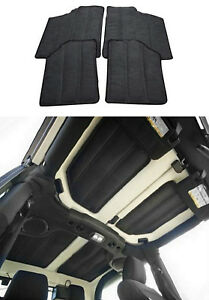 Fit 2012 2017 Jeep Wrangler Jk 2dr Gray Car Top Heat Insulation Protector Cotton