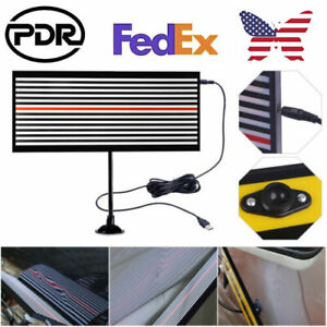 Pdr Tools Dent Repair Paintless Hail Removal Usb Light Led Line Reflector Board