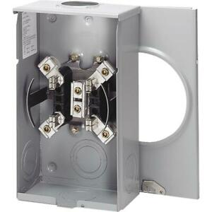 Eaton 200a 600v 4 jaw Outdoor Overhead Service Meter Socket Utrs202bch 1 Each
