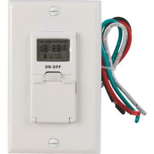 Woods 120v Digital Programmable Timer 59018wd 1 Each