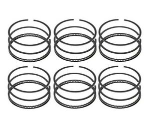 Piston Rings For 1954 1959 Dodge 251 265 Flathead 6 Cyl Spitfire 3 Ring Piston