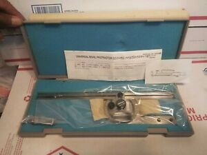 Mitutoyo Universal Bevel Protractor 187 906 New Free Shipping