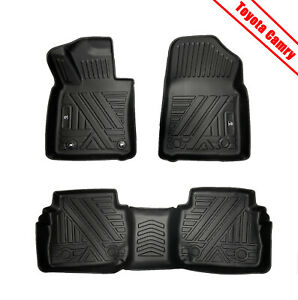 Car Floor Mats All Weather Protection Mat 3d Molded For 2018 2019 Toyota Camry
