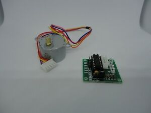 28byj 48 12v 4 Phase Dc Step Motor Uln2003 Drive Module Board 28byj For Arduino