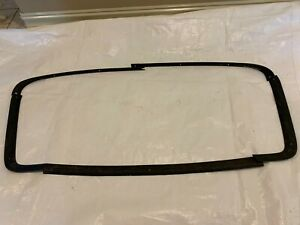 1970 1974 Cuda Interior Rear Window Molding Metal Headliner Trim