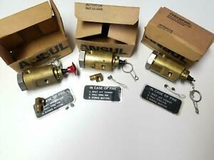 Ansul 24479 Lot Of 3 Checkfire Auto manual Actuator Assembly