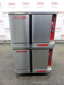 Blodgett Mark v 111 Electric Double Stack Convection Oven 208 230 Volts 1 Phase