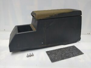 1986 1993 Nissan Hardbody D21 Pickup Center Floor Console With Armrest Lid Oem