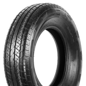 2 New Rainier St Steel Belted Radial St 205 75r14 Load D 8 Ply Trailer Tires