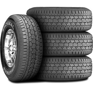 4 New General Grabber Hts 225 70r15 100t A s All Season Tires