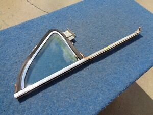 1953 Pontiac Left Front Vent Window Assembly Solid 1954