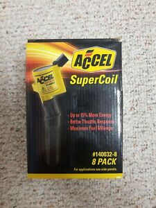 Accel 140032 8 Supercoil Direct Ignition Coil Set