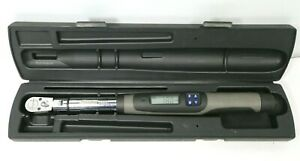 Snap On 3 8 Electronic Torque Wrench Atech2fr100 5 100 Ft Lb W Case Free Ship